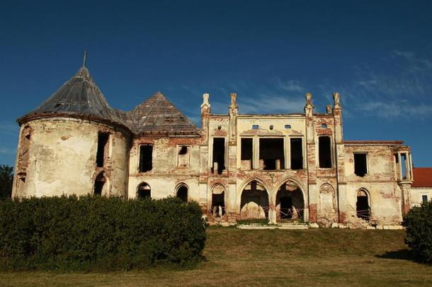 Banffy Castle, Bontida, Romania.