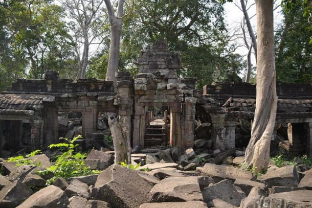 Banteay Chhmar Temple entrance. (CC BY-SA)