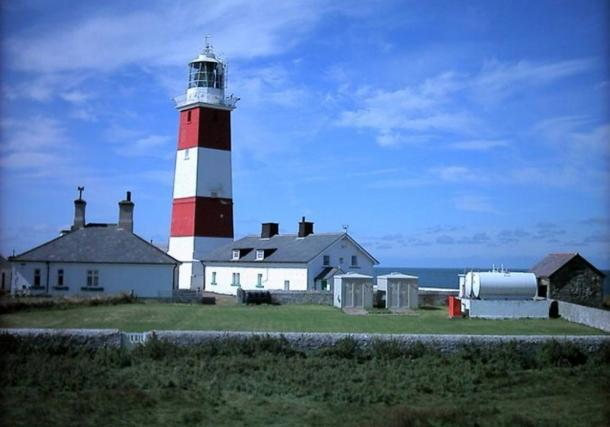 Bardsey lighthouse Unusual square lighthouse which was manned until 1987 - now automatic. Alan Fryer