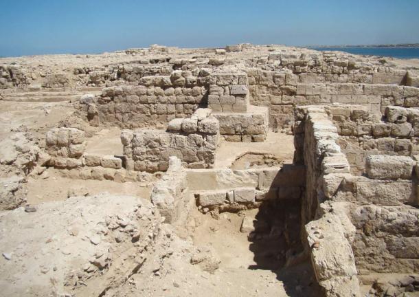 Basilica ruins at Marea