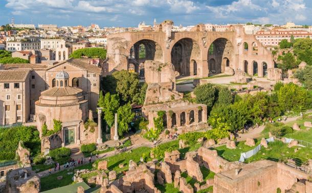 Basilica Santi Cosma e Damiano, Rome (e55evu / Adobe Stock)