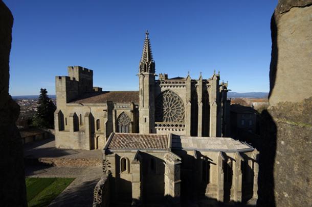 Basilique Saint-Nazaire , Cité of Carcassonne. (arenysam / Adobe)