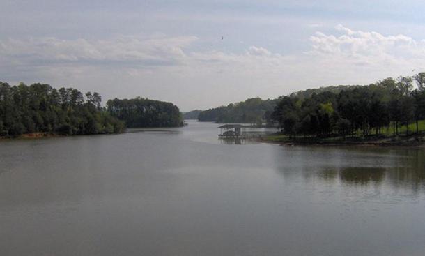 Bat Creek in Loudon County, Tennessee.