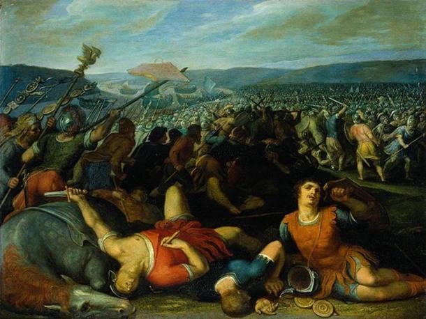 Batavians defeating the Romans