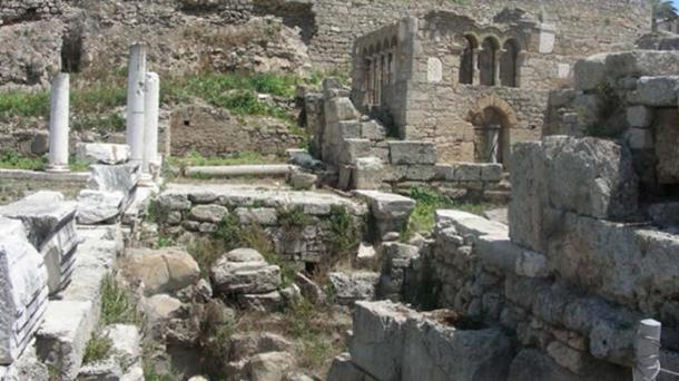 Baths of Eurykles.