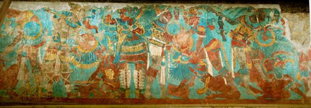 Section of the 'Battle Mural.' (Cristophe Morisset/CC BY NC SA 2.0)