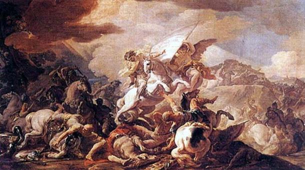 The Battle of Clavijo. (Corrado Giaquinto / Public Domain)