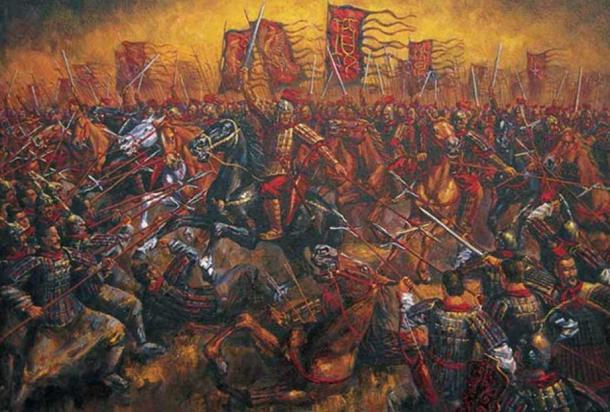 'Battle of Gaixia.' (history.bjinnovate.com)