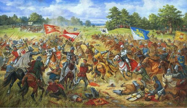 Battle of Grunwald. (CC BY SA 3.0)