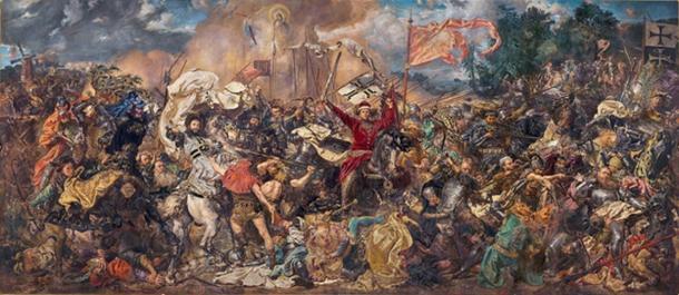 Battle of Grunwald by Jan Matejko (1878).