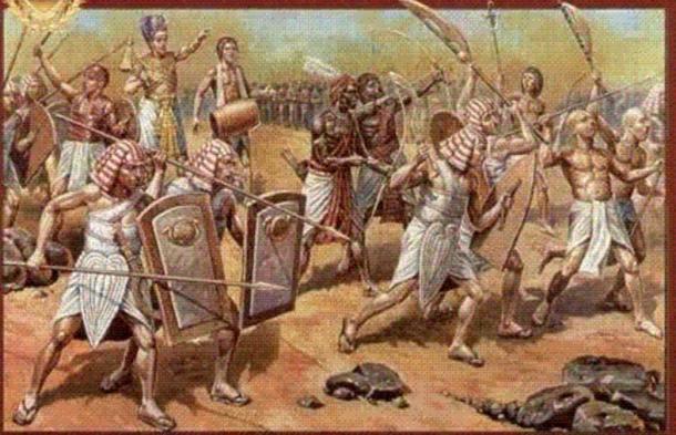 Famous Battle of Megiddo.