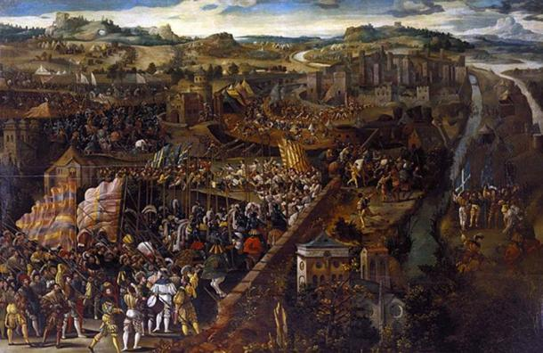 The Battle of Pavia.