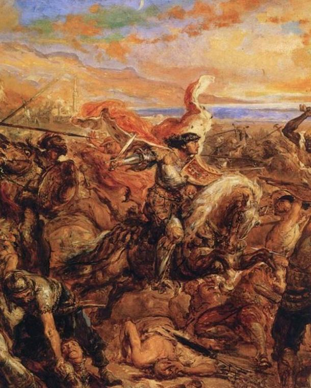 Wladyslaw III at the Battle of Varna, by Jan Matejko.