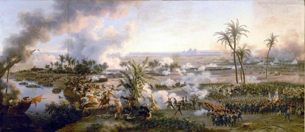 The Battle of the Pyramids, Louis-François, Baron Lejeune, 1808