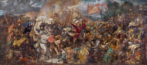 Battle of Grunwald by Jan Matejko (1878). ( Public Domain )