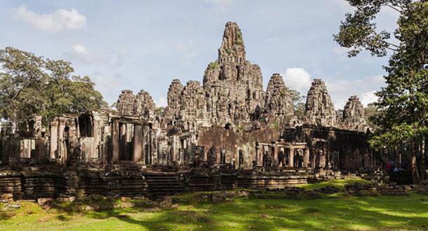 Bayon Wat, Angkor Thom, Cambodia