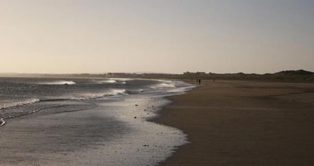 Beach in Bettystown, County Meath.