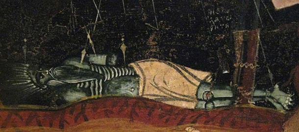Beelzebub from Russian icon of 'Harrowing of Hell'. (CC BY SA 3.0)