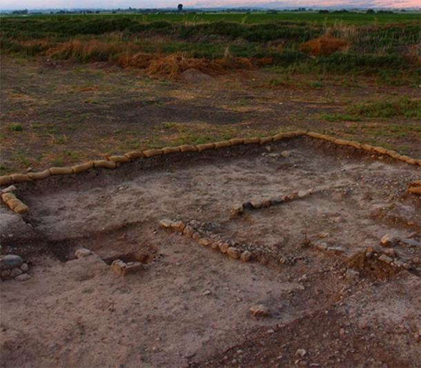 The Beisamoun pyre field, where the cremated burial site remains were discovered in northern Israel. (© Mission Beisamoun)