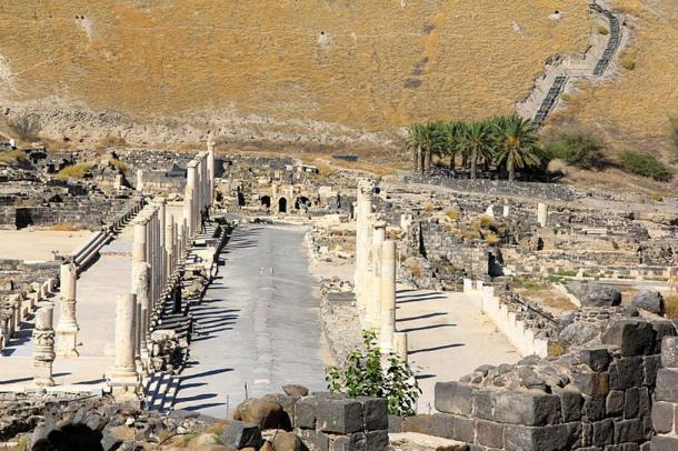 Beit She'an National Park.