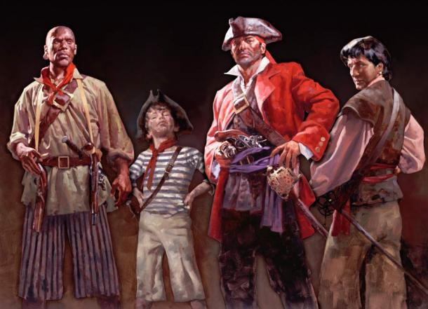 Bellamy and Others Pirates, Exhibit Picture