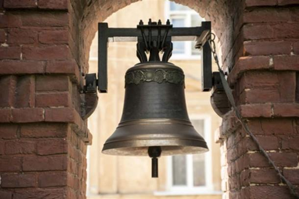 """""""Bells were anointed with both holy water and holy oil in the sign of the cross, in order to make the Devil flee when the bells were sounded"""". (Himchenko /Adobe Stock)"""