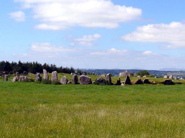Beltany stone circle in Ireland. (Public Domain)