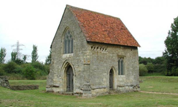 Benedictine priory Chapel of Our Lady, Bradwell Abbey. (John Salmon / CC BY-SA 2.0)