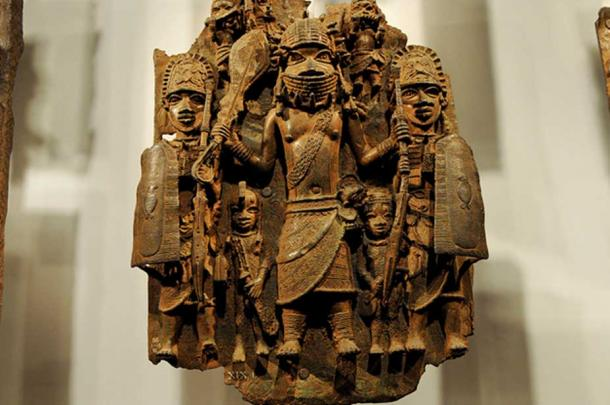 Benin Bronzes portrayed many different characters, including Europeans