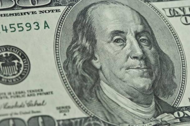 Benjamin Franklin on United States bank note