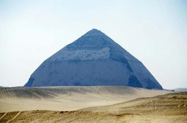 Bent pyramid of Sneferu, Dahshur, Egypt