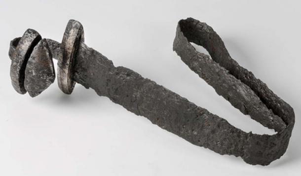 Bent sword from exhibition at The Swedish History Museum. (The Swedish History Museum / CC BY-SA 2.0)