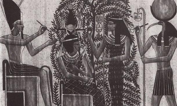 Berenice III y Cleopatra Selene I.