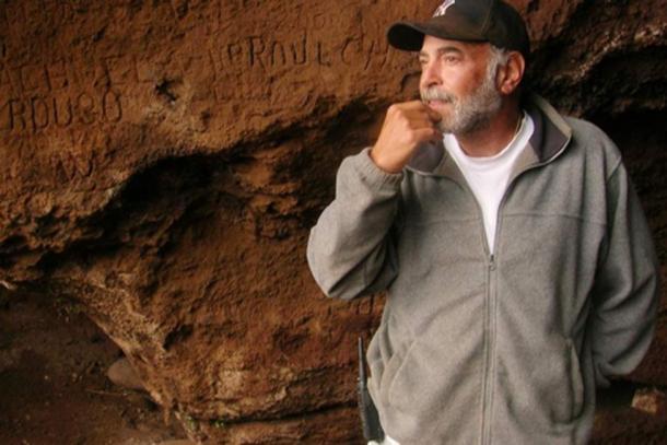 Bernard Keiser has been treasure hunting on the remote Chilean island since 1998. (La Tercera)