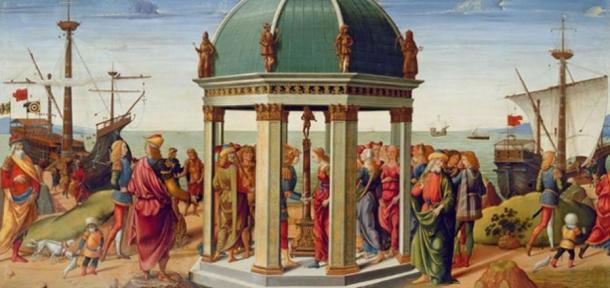 The Betrothal of Jason and Medea by Biagio d'Antonio (1487) Museé des Arts Décoratifs, Paris (Public Domain)