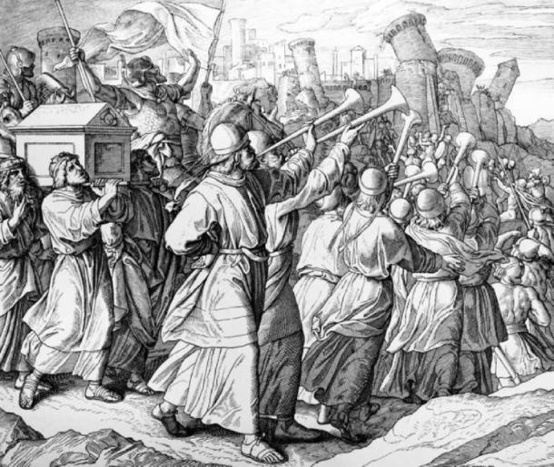 Biblical depiction of the battle of Jericho. (Public Domain