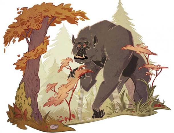 The famous Bigfoot.