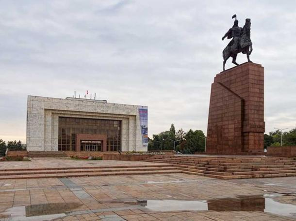 Bishkek's State History Museum, Kyrgyzstan, where the mummy was kept for 60 years.