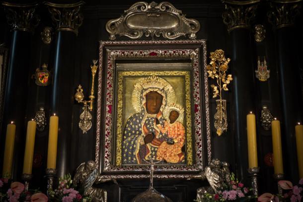 Black Madonna of Czestochowa, Poland