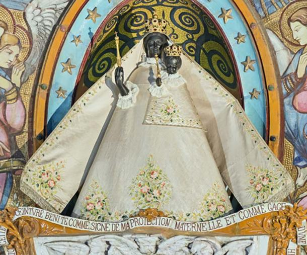 Black Madonna of Toulous. Basilica Notre-Dame de de la Daurade. (CC BY-SA 4.0)
