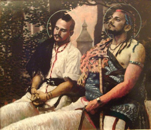 Bleda and Attila. (Finn Diesel / Free Art License)