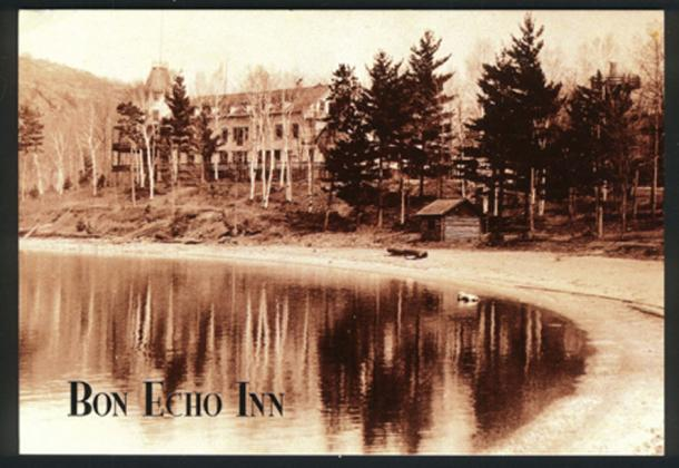 Bon Echo Inn postcard (Public Domain)