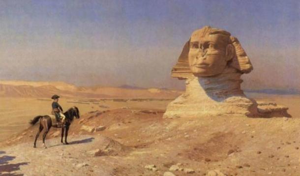 Bonaparte Before the Sphinx, (ca. 1868) by Jean-Léon Gérôme.