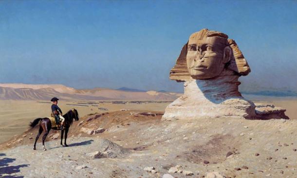 Bonaparte Before the Sphinx, 1867