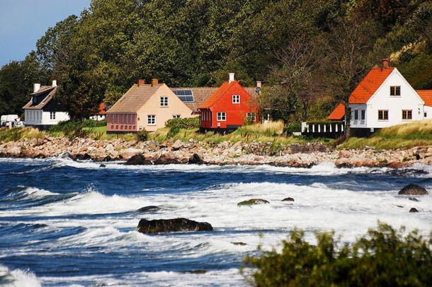 Bornholm is one of the many locations that have been associated with the Templars' treasure.