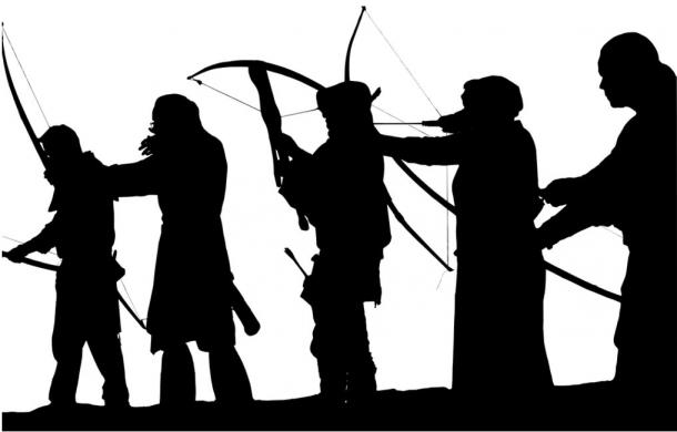 Bow and arrow and crossbow competition
