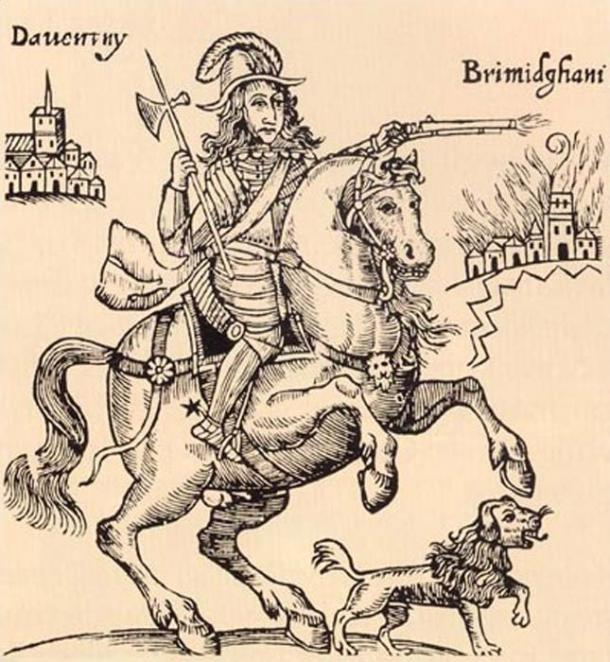 Boye, accompanying Prince Rupert of the Rhine