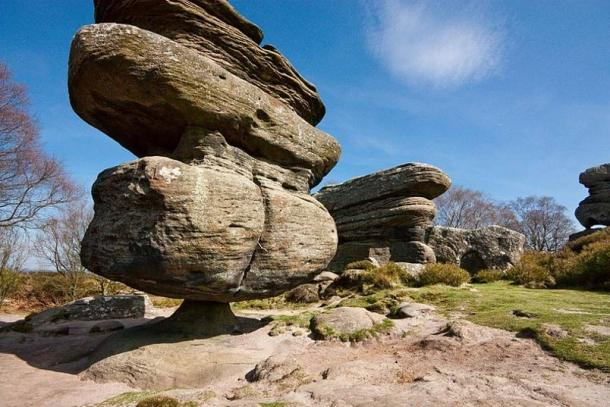 Remarkable Brimham rock formations, North Yorkshire