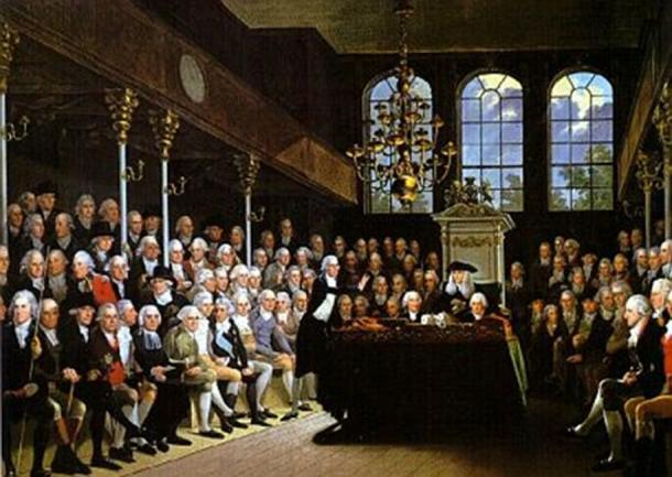 British parliament 1793