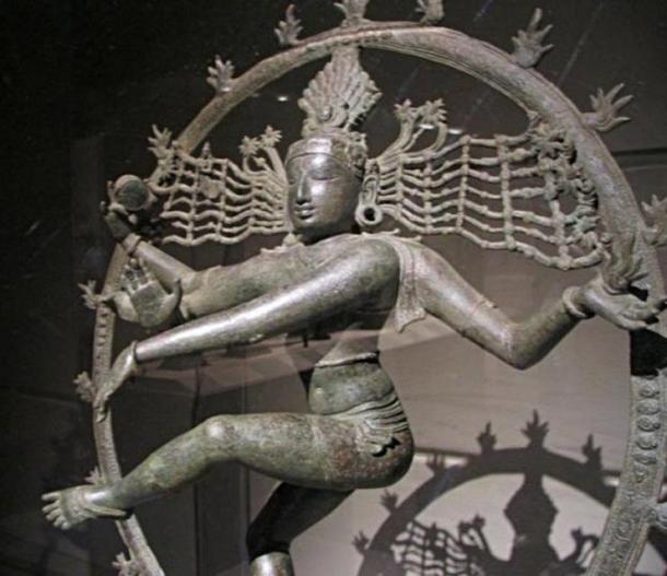 Bronze Chola Statue of Nataraja at the Metropolitan Museum of Art, New York City.